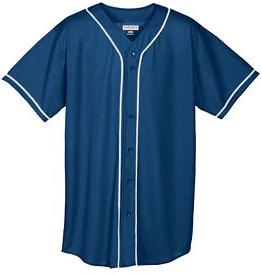Six Button Baseball Jersey